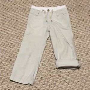 Janie and Jack pants with roll up option